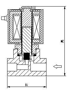 ZS直动式电磁阀结构图