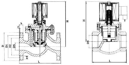 ZCZP大通径电磁阀总装图